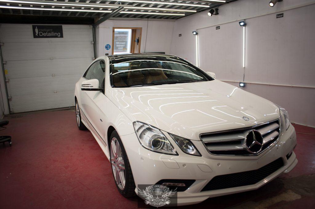 Mercedes E250 - полировка и керамика