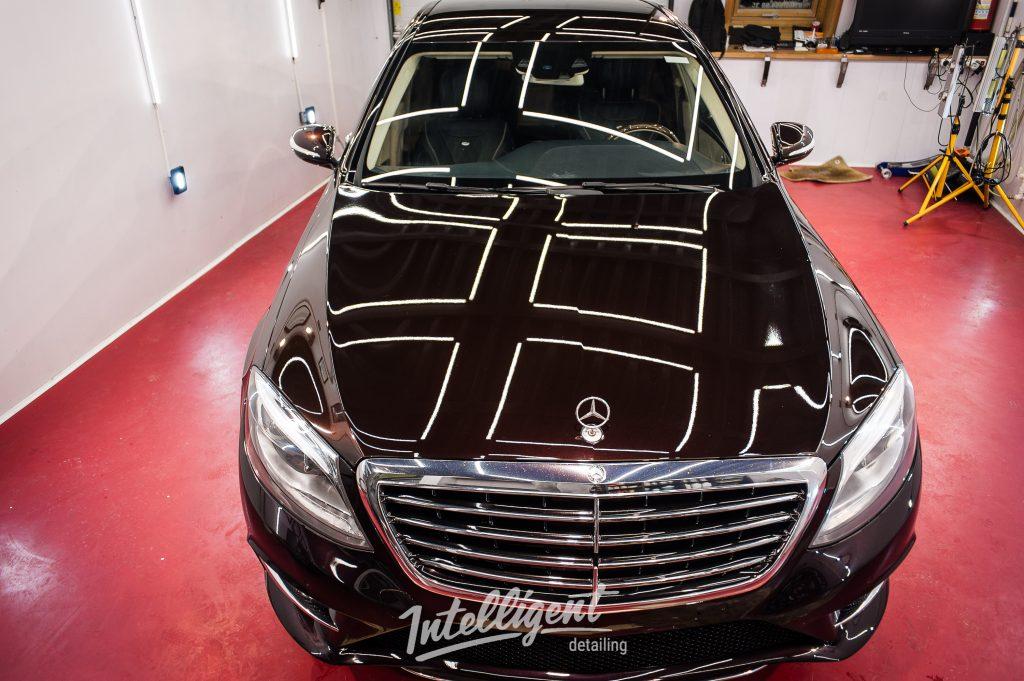 Mercedes S500 - полировка, керамика