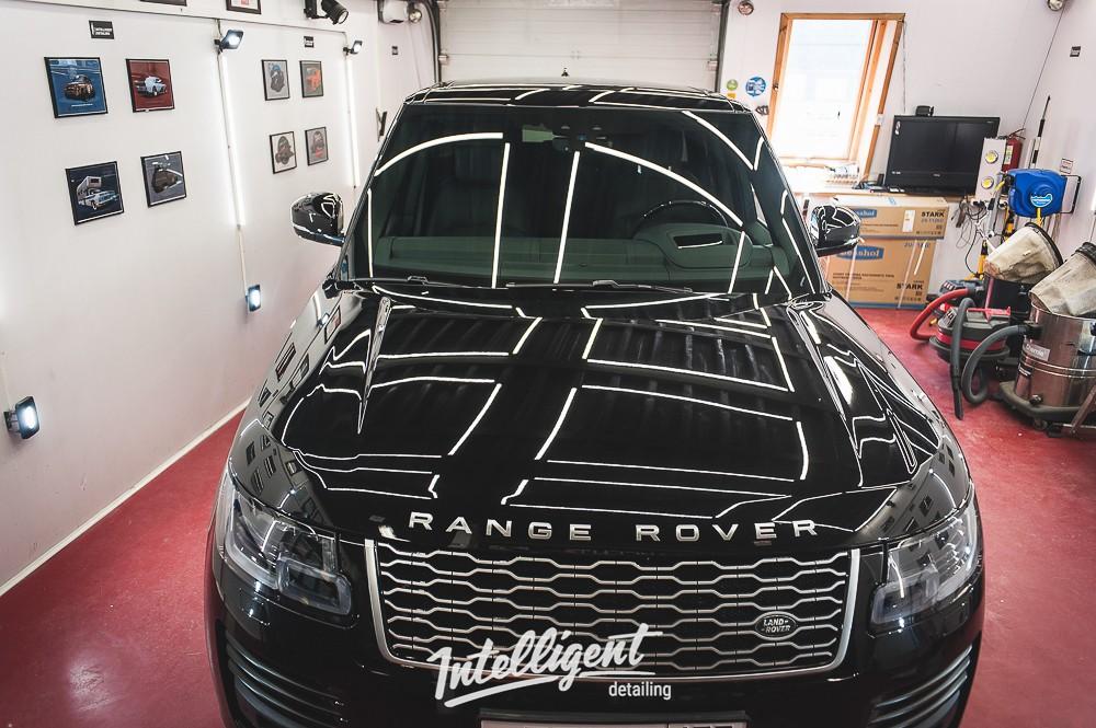 Range Rover Autobiography - Полировка + защита керамикой 2+1