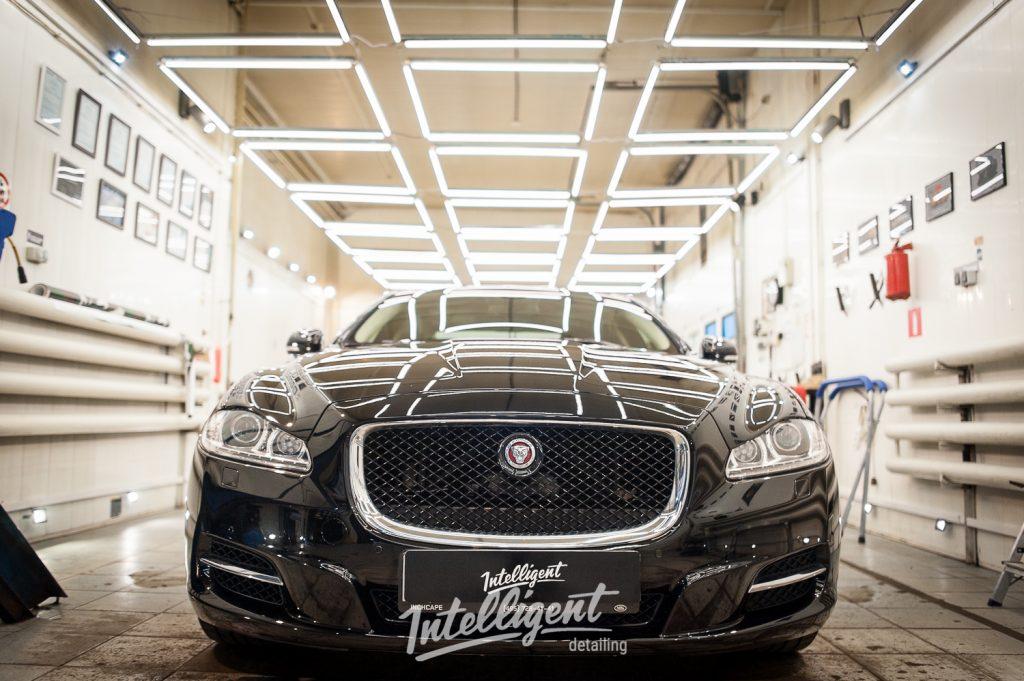 Jaguar XJ - полировка лкп + керамика 1+1
